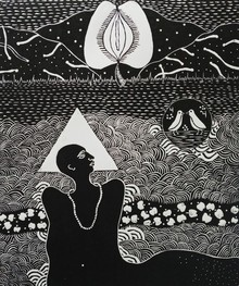 Kapil Verma | Conversation Printmaking by artist Kapil Verma | Printmaking Art | ArtZolo.com