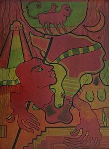 Kapil Verma | Desire Printmaking by artist Kapil Verma | Printmaking Art | ArtZolo.com