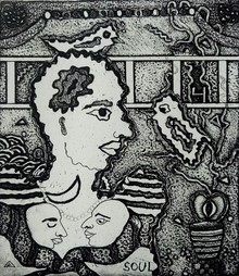 Kapil Verma | Dream Printmaking by artist Kapil Verma | Printmaking Art | ArtZolo.com