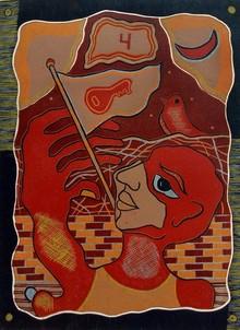 Kapil Verma | Hope Printmaking by artist Kapil Verma | Printmaking Art | ArtZolo.com
