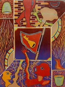 Kapil Verma | Journey From Beginning Printmaking by artist Kapil Verma | Printmaking Art | ArtZolo.com