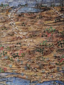 Landscape Mixed-media Art Painting title Healing by artist Pratik Raut