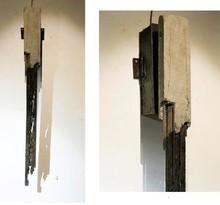 Mixedmedia Sculpture titled 'Time' by artist Abhishek Salve