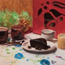 Still-life Oil Art Painting title Affinity by artist Amit Srivastava