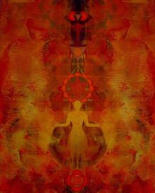 Motivational Acrylic Art Painting title Untitled 4 by artist Keshav Kasar