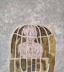 Kumar Misal | Gulam Printmaking by artist Kumar Misal | Printmaking Art | ArtZolo.com