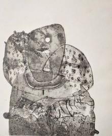 Kumar Misal | My Village 2 Printmaking by artist Kumar Misal | Printmaking Art | ArtZolo.com