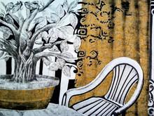 Still-life Mixed-media Art Painting title Nature As A Decoration by artist Subhamita Sarkar