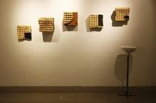 Ceramic, Metal Sculpture titled 'Untitled 1' by artist Souvik Das