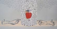 contemporary Acrylic Art Painting title Target 1 by artist Bibhas Baidya