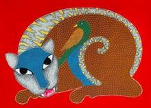 Animals Acrylic Art Painting title Untitled 2 by artist Venkat Shyam