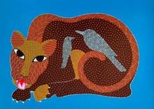 Animals Acrylic Art Painting title Untitled 4 by artist Venkat Shyam