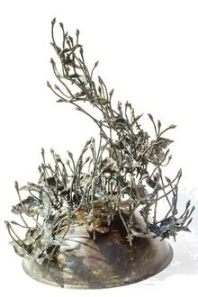 Bronze Sculpture titled 'Rhythm 3' by artist Mrinal Kanti