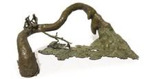 Bronze Sculpture titled 'Rhythm 5' by artist Mrinal Kanti