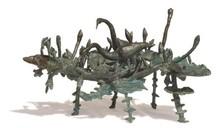 Bronze Sculpture titled 'Rhythm 7' by artist Mrinal Kanti