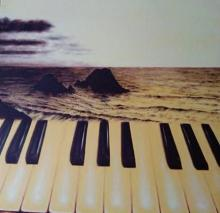 Saurab Bhardwaj Paintings | Photorealistic Painting - The Piano by artist Saurab Bhardwaj | ArtZolo.com