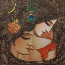 Figurative Acrylic Art Painting title Untitled 3 by artist Gopal Naskar