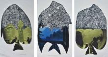 art, printmaking, mixedmedia, paper, animal