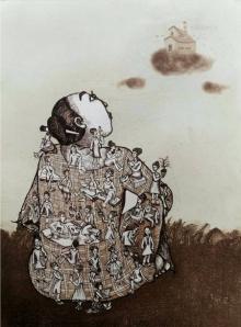 Nandini Pantawane | Envisage Printmaking by artist Nandini Pantawane | Printmaking Art | ArtZolo.com