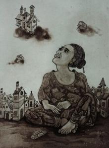 Nandini Pantawane | Envisage 2 Printmaking by artist Nandini Pantawane | Printmaking Art | ArtZolo.com