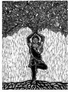 Nandini Pantawane | Super Mom 2 Printmaking by artist Nandini Pantawane | Printmaking Art | ArtZolo.com