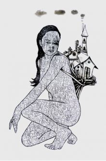 Nandini Pantawane | Time To Fly High 1 Printmaking by artist Nandini Pantawane | Printmaking Art | ArtZolo.com