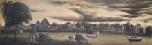 Landscape Acrylic Art Painting title Kundalini by artist Thambi Sankaran