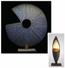 Mild Steel,Brass Sculpture titled 'Untitled 1' by artist Swapnil Godase
