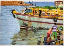 seascape boats harbour