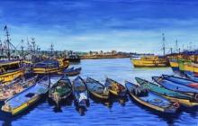 seascape boats ships