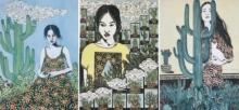 art, printmaking, paper, lithograph, figurative