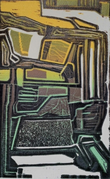 art, printmaking, paper, woodcut, abstract