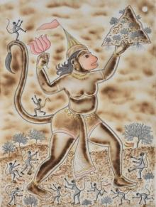 art, painting, mixedmedia, paper, religious