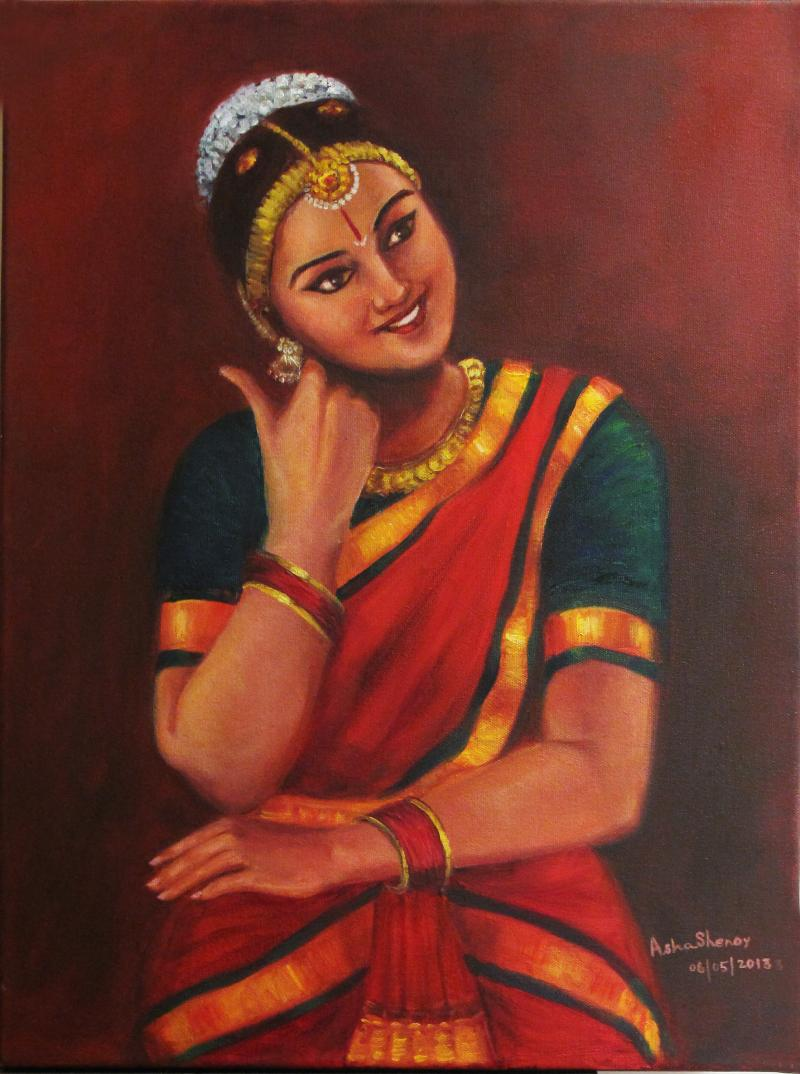 Yashoda Amused With Krishna's Pranks by artist Asha ...