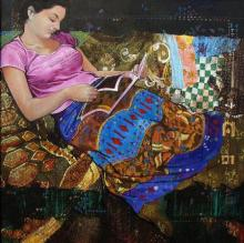 Beauty | Painting by artist Ramchandra Kharatmal | acrylic | Canvas