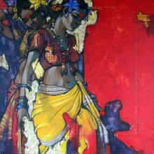 Beauty 15 | Painting by artist Ramchandra Kharatmal | acrylic | Canvas