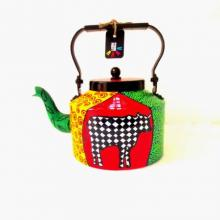 Rithika Kumar | Holy Cow Tea Kettle Craft Craft by artist Rithika Kumar | Indian Handicraft | ArtZolo.com
