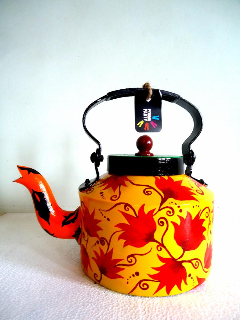 Hand Painted Tea Kettles