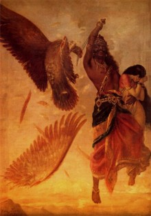 Ravana Abducting Sita | Painting by artist Raja Ravi Varma Reproduction | oil | Canvas