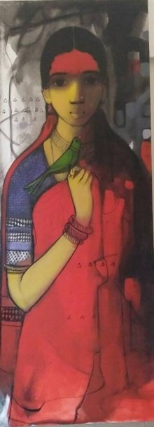 Simplicity | Painting by artist Sachin Sagare | Acrylic | Canvas