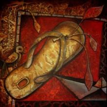 Figurative Acrylic Art Painting title 'Untiteld 3' by artist Anupam Pal
