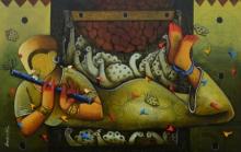 #abstract #animal #wildlife #affordaleart #fox #peacefulart #wildlife #acrylicart #acrylic #animalportrait #portrait #animals #nature #purple #dog