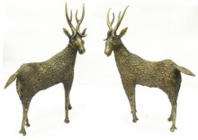 Bhansali Art | Deer Standing Craft Craft by artist Bhansali Art | Indian Handicraft | ArtZolo.com
