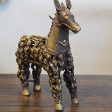 Brass Sculpture titled 'Untitled' by artist Kushal Bhansali