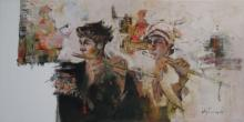 Ajay Deshpande | Oil Painting title In Tune 4 on Canvas | Artist Ajay Deshpande Gallery | ArtZolo.com