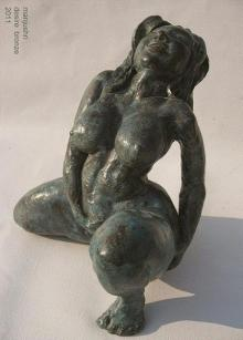 Bronze Sculpture titled 'Desire Series I' by artist Manjushri Chakraborty