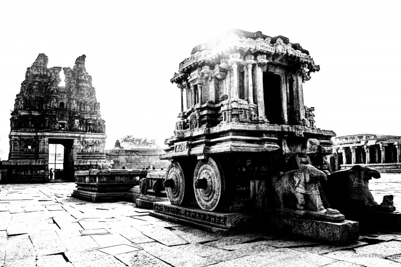 Vittala temple by Sawant Tandle |Canvas Prints of Photograph| Image