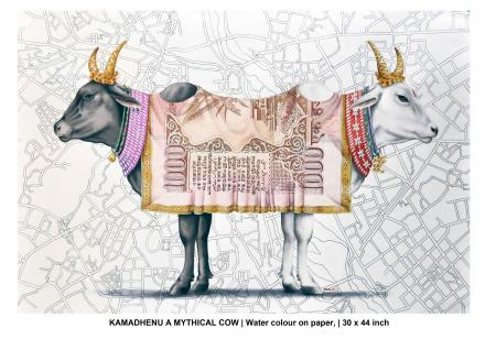 Kamadhenu-A-Mythical-Cow By Rohit Sharma