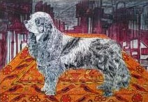 Animals Mixed-media Art Painting title 'Life Of Kutch II' by artist Amit Lodh