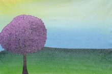 Sumit Mehndiratta Paintings | Acrylic Painting - Summerscape by artist Sumit Mehndiratta | ArtZolo.com